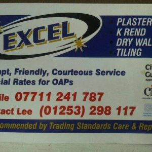 Excel Plastering & Tiling – Fylde Approved Trades